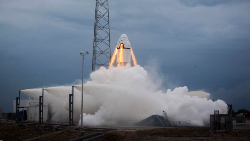 SpaceX to launch Crew Dragon in one month