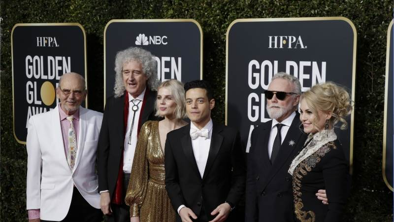 Golden Globe for 'Bohemian Rhapsody'