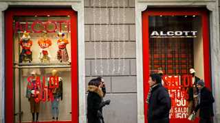 Euro area retail sales up by 0.6% in November