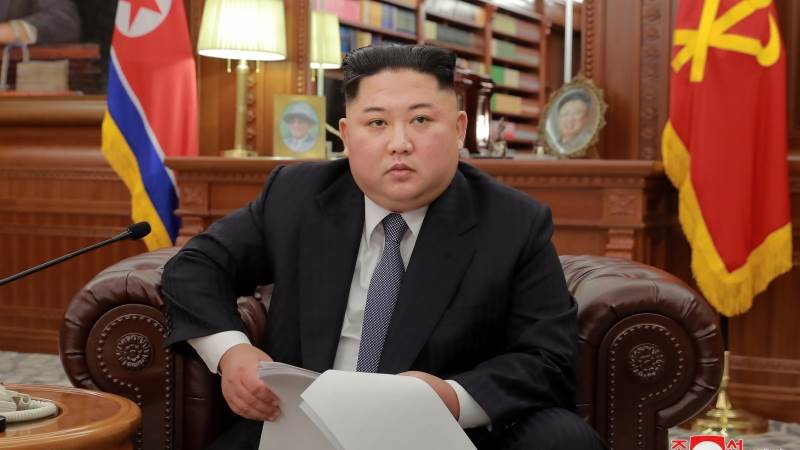Kim speculated to be in train that entered China