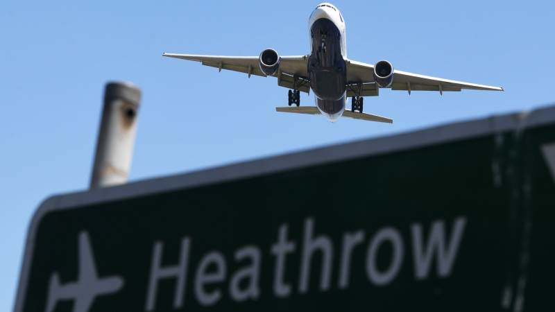 Drone incident delays flights at Heathrow - report