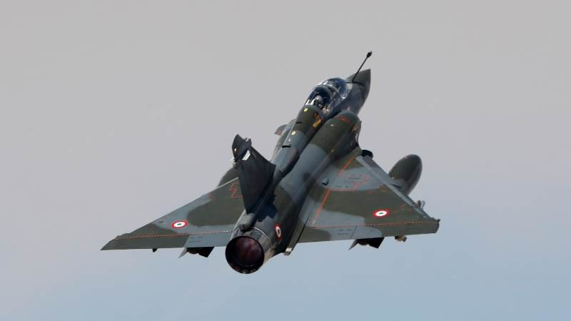 Mirage fighter jet goes off radar in France