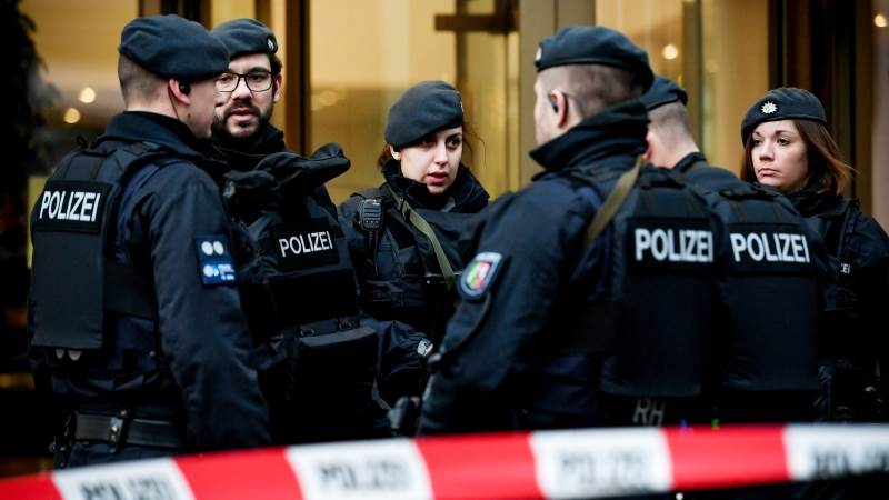 Courts evacuated in 4 German towns over bomb threat