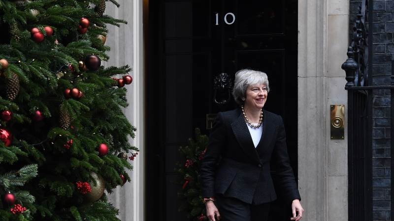 UK govt insists May ruled out Brexit delay