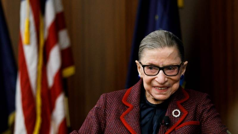 Justice Ginsburg to continue work next week