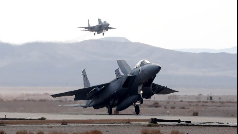 Israel confirms strikes against Iranian targets in Syria
