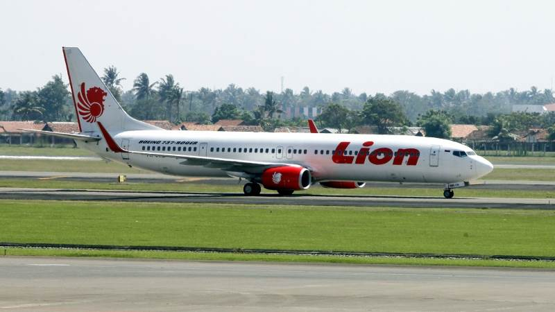 Black box from Lion Air's Boeing 737 found in sea