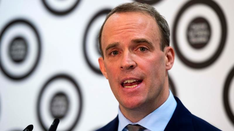 Raab: No-deal Brexit may be only possible option