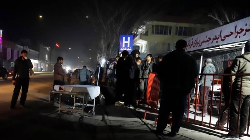 Kabul blast kills at least 4, injures over 90