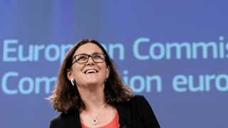 Malmstrom: EU wants to talk auto tariffs removal with US