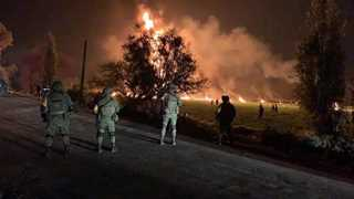 Mexico pipeline explosion death toll climbs to 66