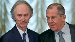 Lavrov hopes for continuity with new UN envoy in Syria