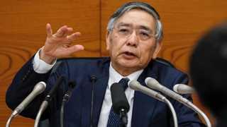 BoJ's Kuroda: US-China trade dispute likely to end