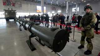 Russia displays new missile in bid to prove US wrong
