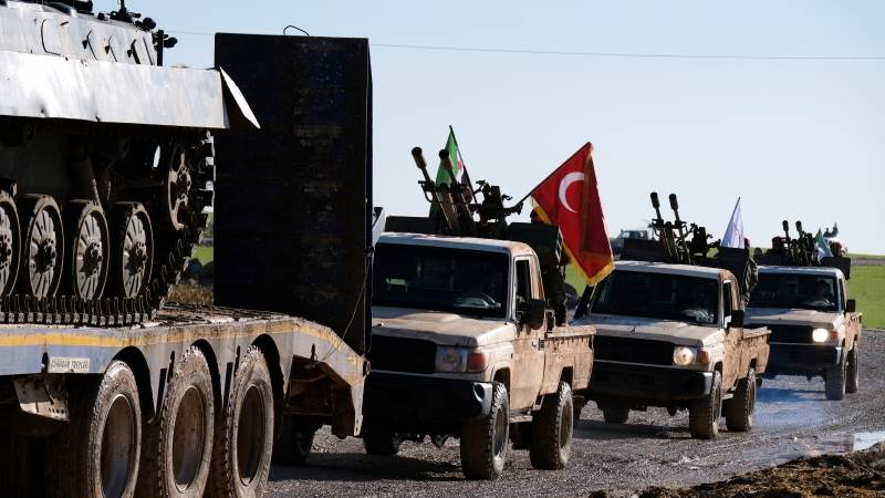 Turkey attacks YPG forces in Tell Rifaat area