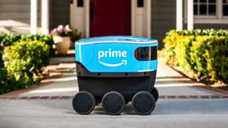 Amazon launches self-driving delivery device Scout