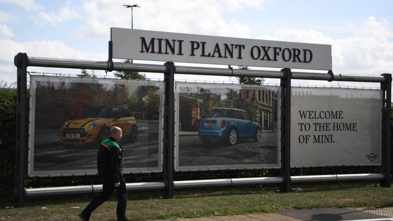 Bmw No Deal Brexit May Move Mini Production Out Of Uk Teletradercom
