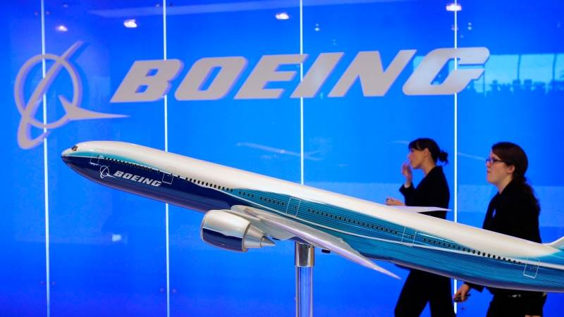 Boeing reports EPS of $3 75 in Q1, down 10% - TeleTrader com