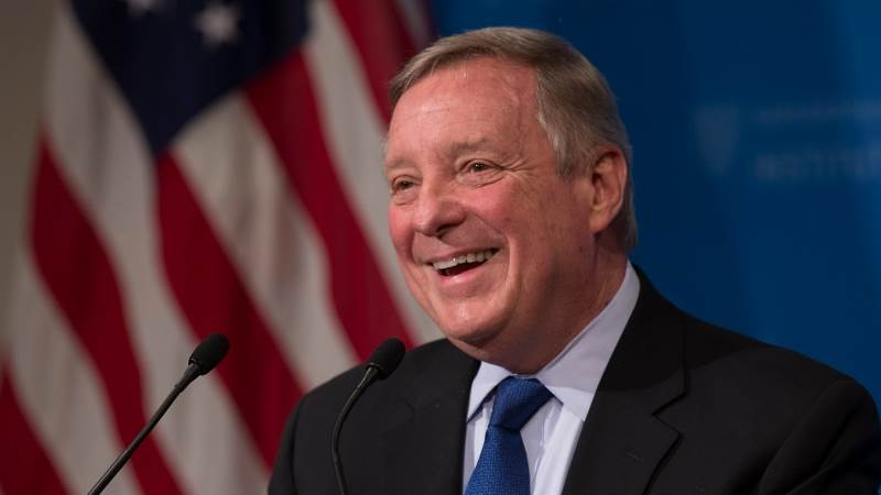Sen  Durbin: Too early for Trump impeachment - TeleTrader com