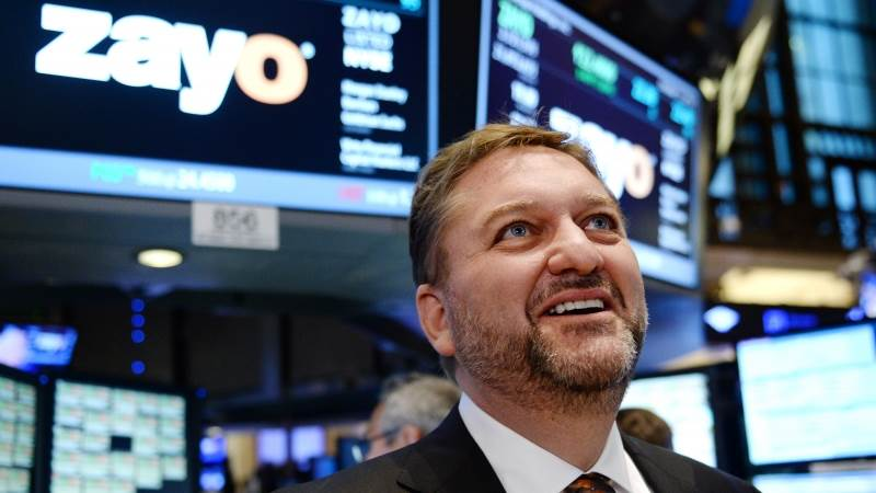 Zayo soars to seven-month high on buyout deal - TeleTrader com