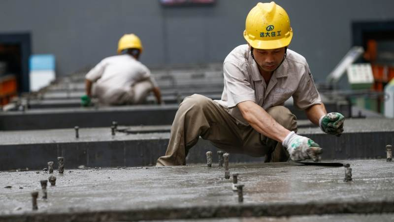 China's industrial output growth slows to 5% in May