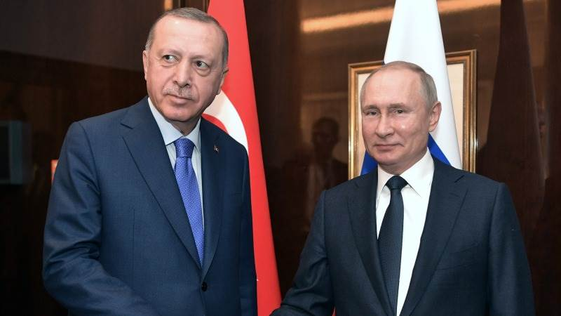 Slikovni rezultat za putin erdogan meeting