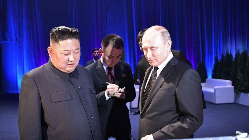 Putin Gives Kim Jong Un Russian Medal Of Honor Teletrader Com