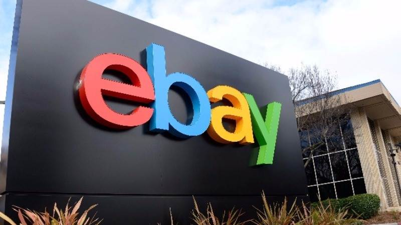 eBay's EPS reported at $0.36, income lower
