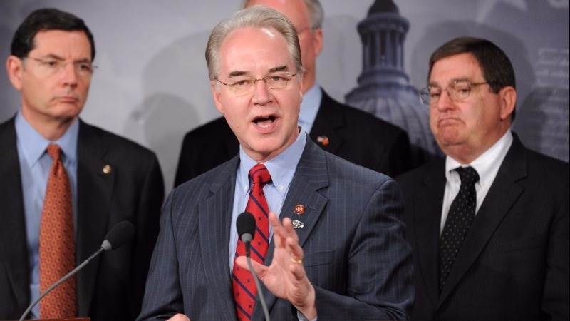 Trump picks congressman Price for health secretary