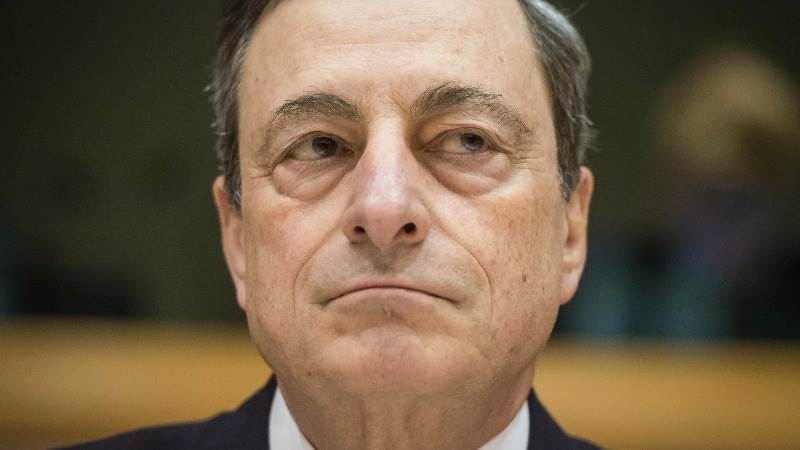 Draghi: ECB never discussed helicopter money