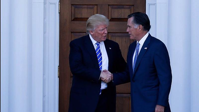 Trump to dine with Romney on Tuesday