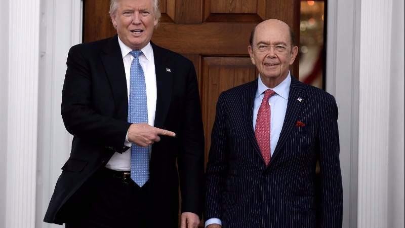 Trump to name Wilbur Ross as commerce secretary