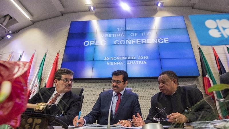 Crude prices rally 9% on OPEC output cut