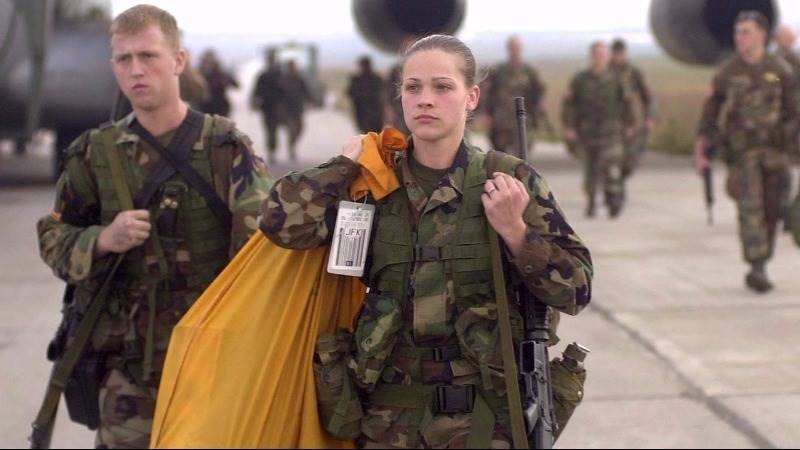 White House supports military draft of women