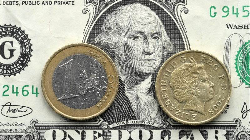 Dollar slides versus pound, euro as bond yields rally