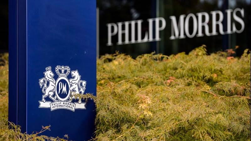 Philip Morris reports EPS of $0.98, revenue at $6.1 bn