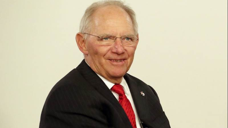 Schaeuble: Germany is open for talks with Trump