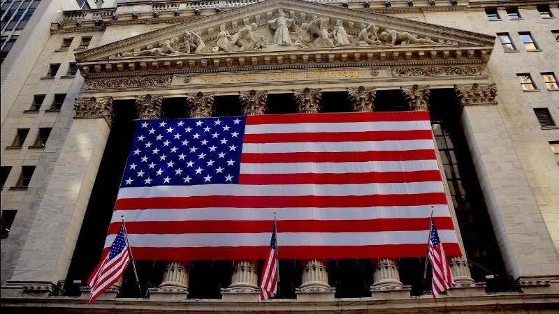 Wall Street ends sharply higher on Mnuchin remarks