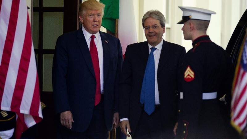Trump: Italy should pay fair share of defense cost
