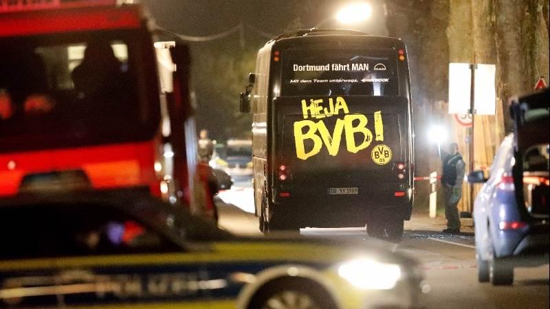 Suspect in Borussia Dortmund bus attack arrested