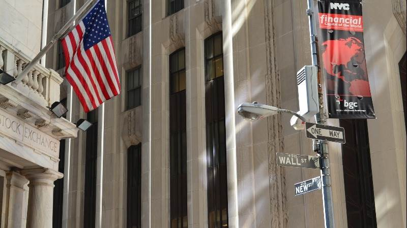 Wall Street opens flat ahead of French election