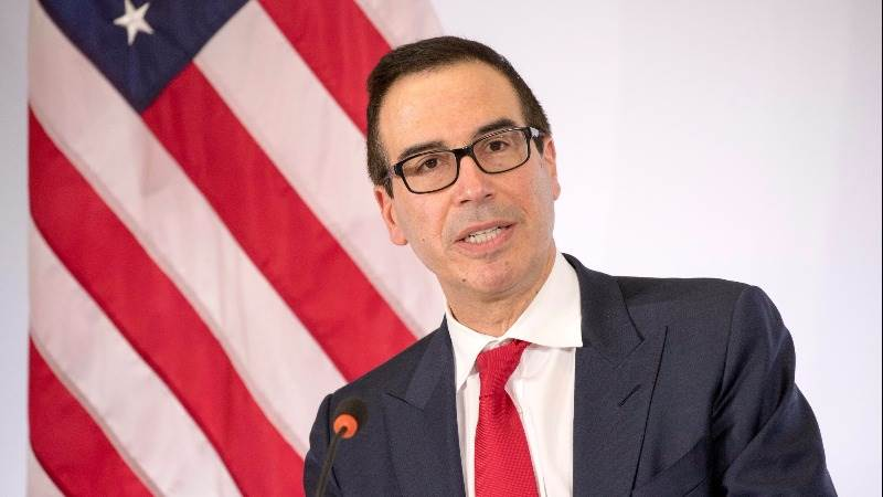 Mnuchin: Trump to order review of financial rules