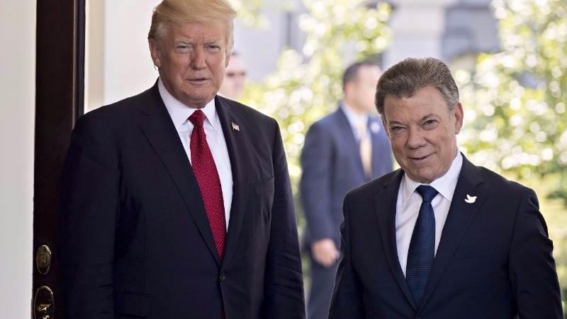 Trump: Colombia, US will confront drug crimes