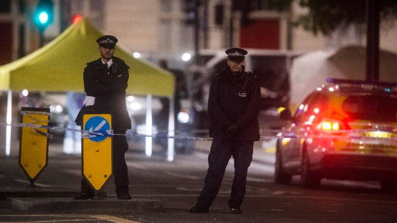 London police: 'Number of casualties' in van collision