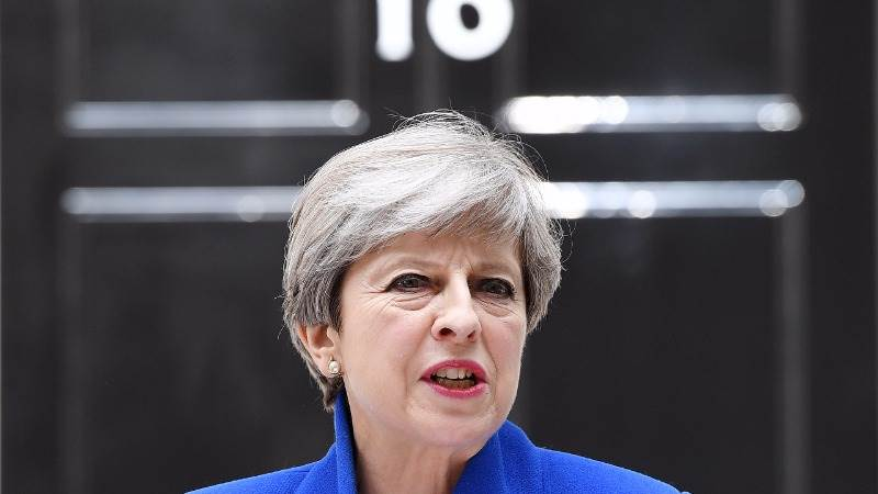 May: We will stamp out hateful ideology