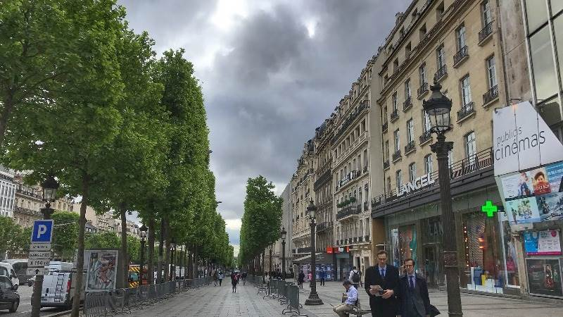Police: Ongoing intervention on Champs Elysees, Paris