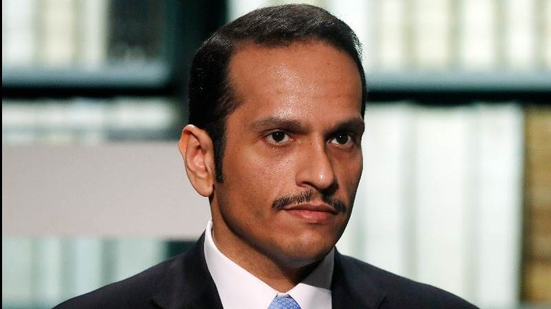 Qatari FM: We won't negotiate before blockade is lifted
