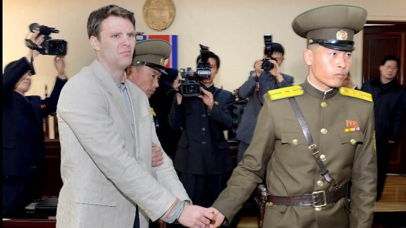 US student freed from N. Korea dies