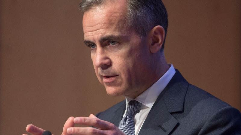 Carney: Underlying prices too subdued for tightening