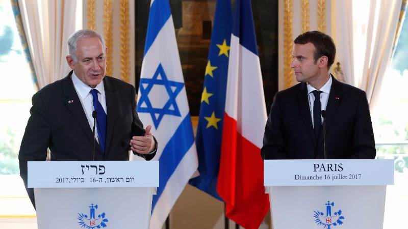 Macron calls for two state solution to M. East crisis